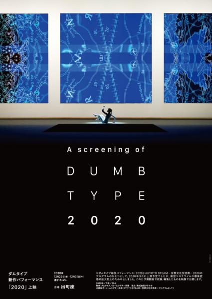 ダムタイプ 新作パフォーマンス 2020